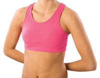1023 and 1213 Pizzazz MVP Sports Bra with Racer Back Design