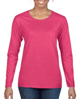 Gildan Heavy Cotton Missy Fit Long Sleeve Tee