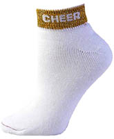"7020 Pizzazz ""Cheer"" Anklet Socks"