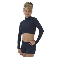 7500 and 7600 Pizzazz Body Basics Crop Top