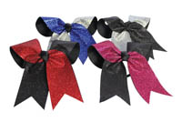 HB270GL Glitter Twister Hair Bow