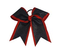 "HB525-GL 3"" Dual Layer Glitter Bow"