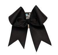 "HB330 3"" Solid Color XL cheer Bow"