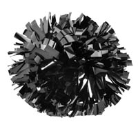 Pizzazz POM6M - Metallic Pom Pom. Sold Individually